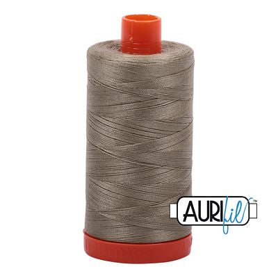 Aurifil 50 weight Cotton Thread, Lt Khaki Green- 2900