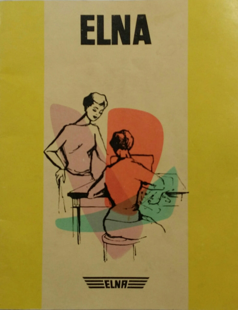 Elna Automatic Instruction Book