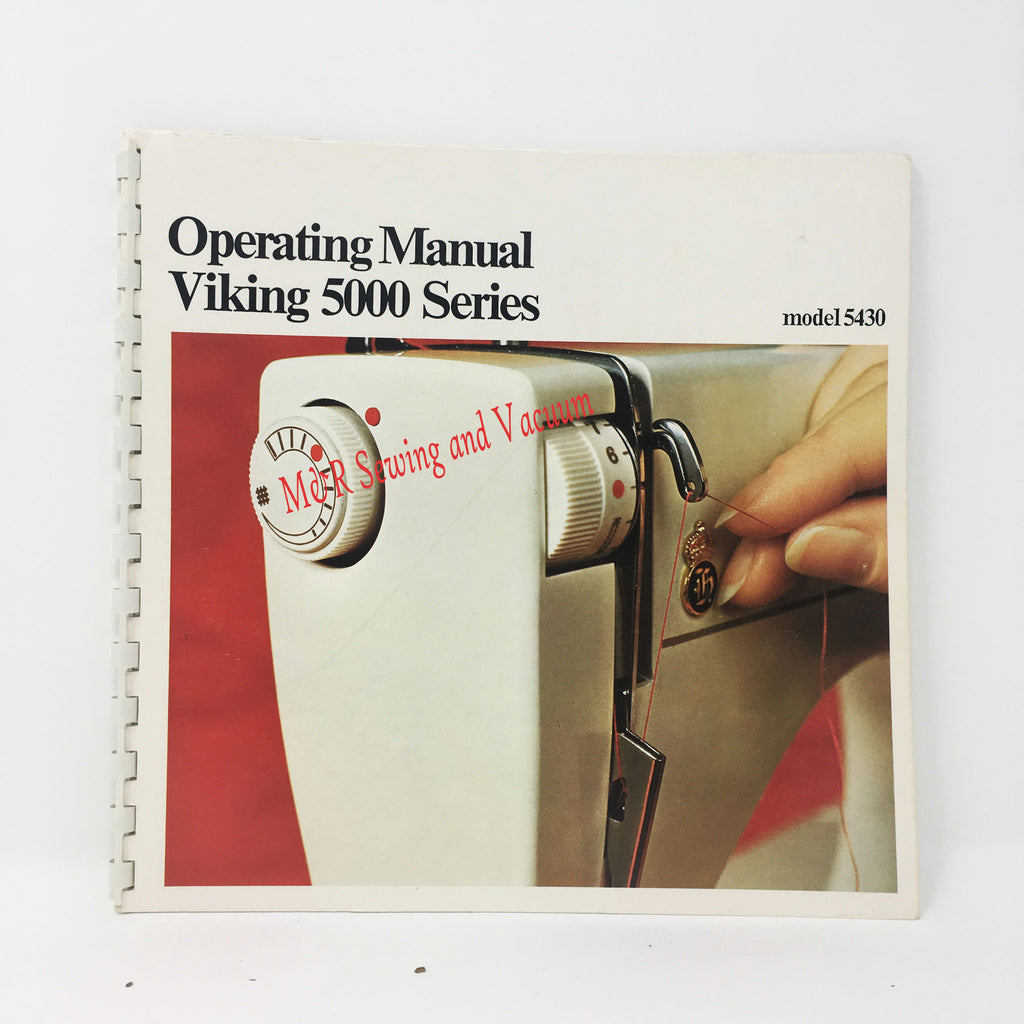 USED Viking 5430 Instruction Book