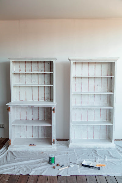 Before-and-After-DIY-Upcycled-Bookshelf-and-Hutch