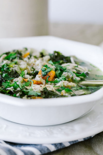 Cheats Cosy Chicken Soup Recipe by Jaharn Quinn from Smor Kitchen