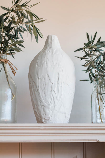 DIY-Textured-Vase-Using-Joint-Compound