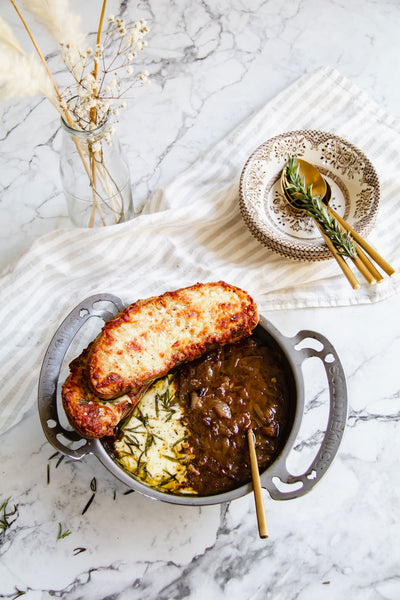 Rustic French Onion Soup Recipe
