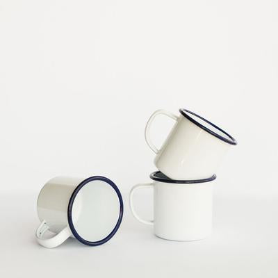 Smor Kitchen Enamel Mugs