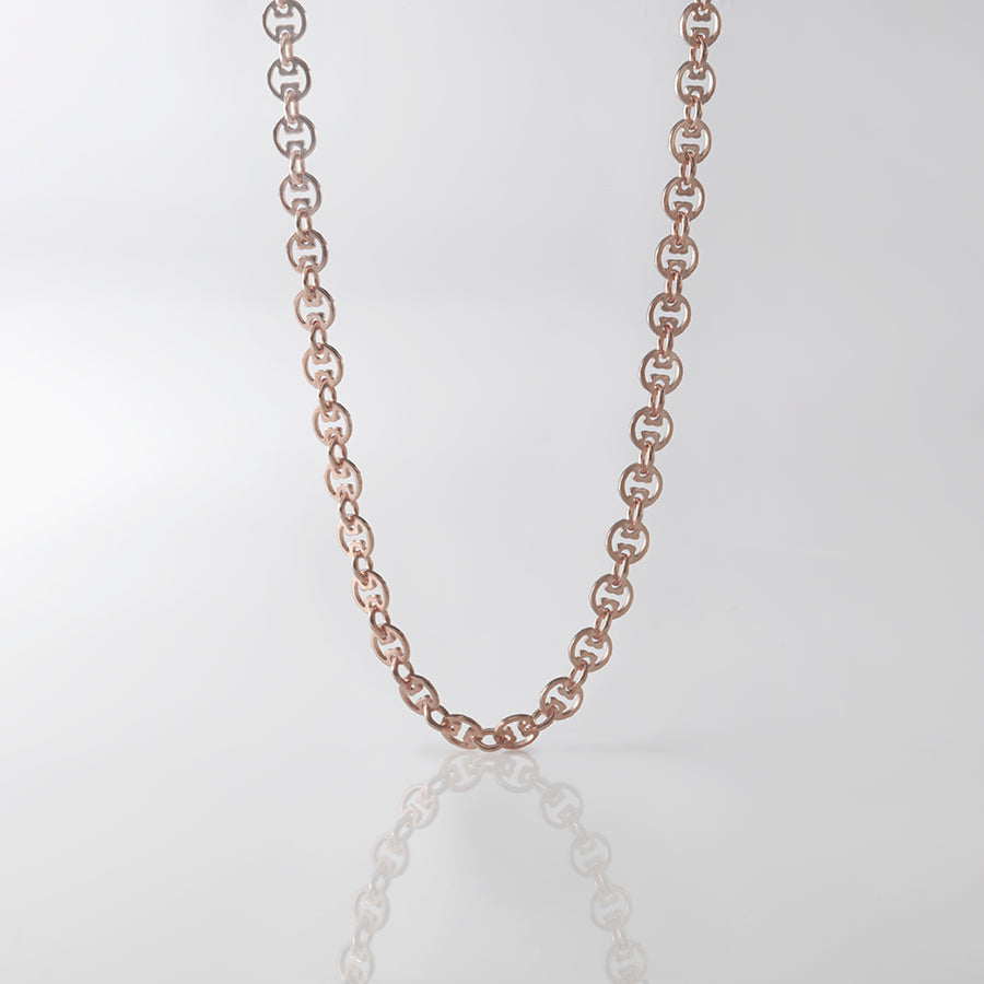 Zombie Apocalypse Chain, rose gold chain