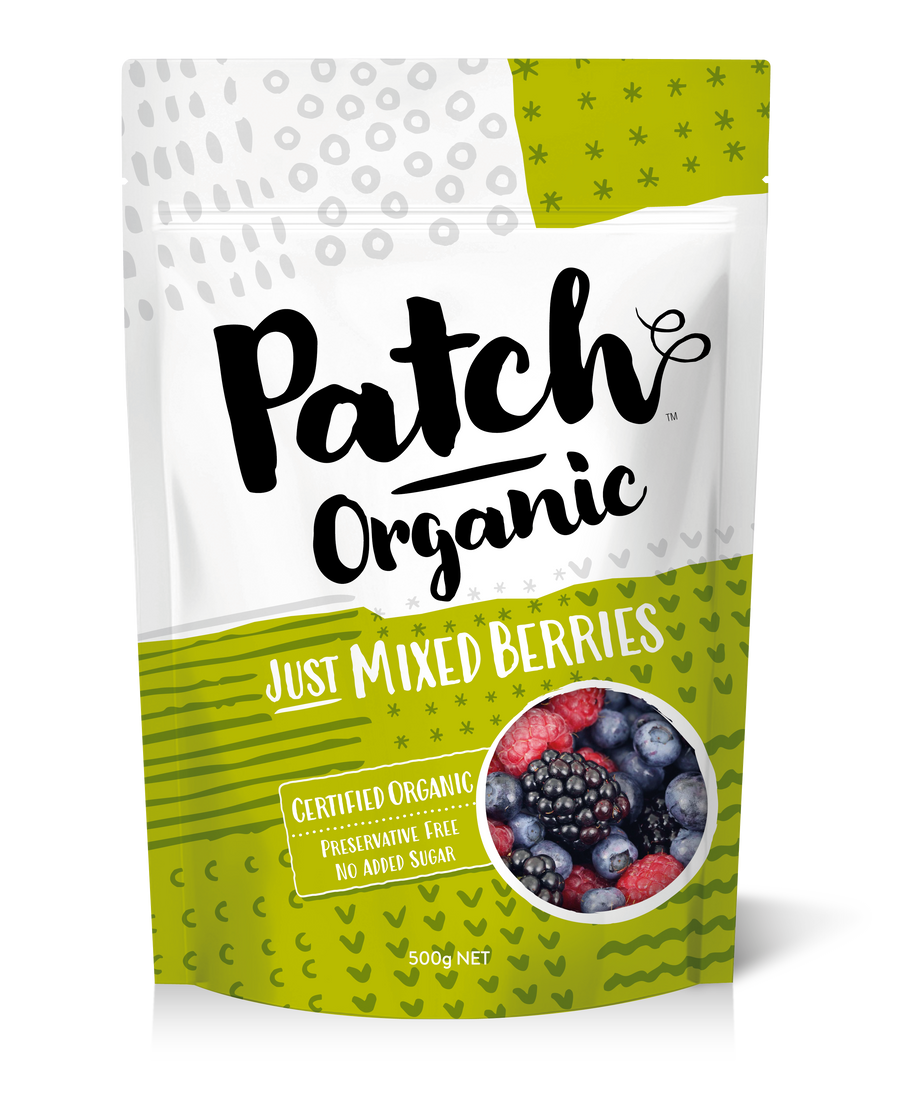Frozen Organic Mixed Berries 500g