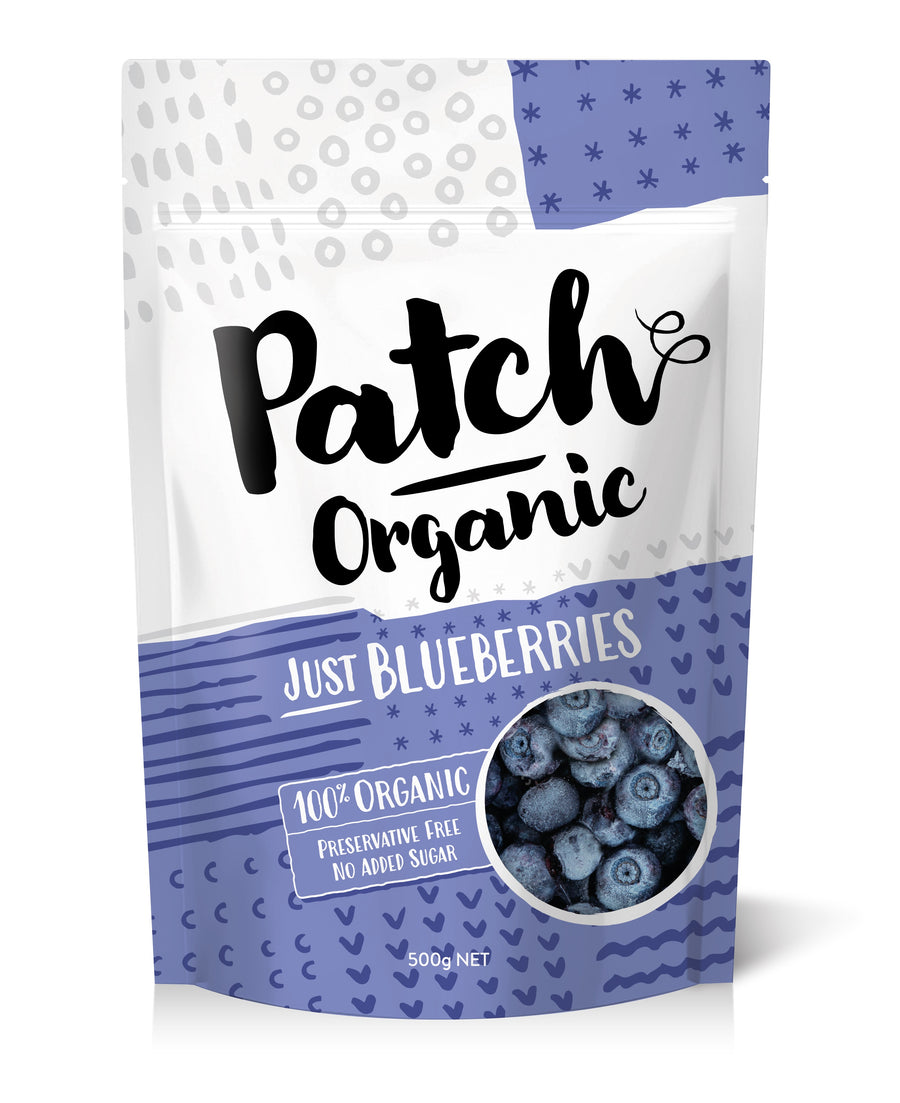 Frozen Organic Blueberries 500g