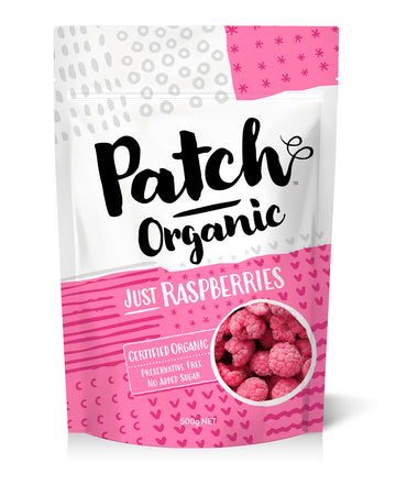 Frozen Organic Raspberries 500g