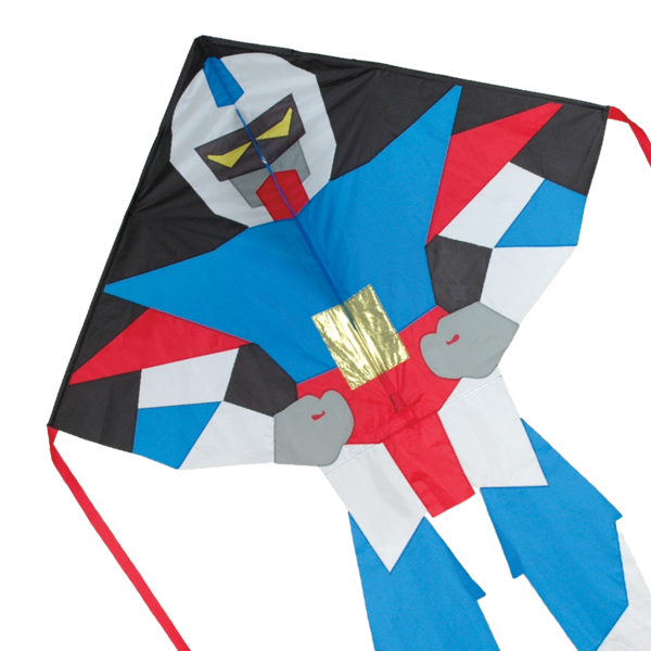 Superbot Drake - Large EASY FLYER Robot (Evangelion) by Premier Kite USA