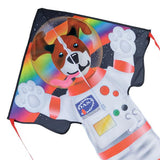 Rymdhunden Drake - Large EASY FLYER Dog side of the Moon(Astronaut) by Premier Kite USA