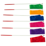 Rytmgymnastikband / Gymnastikband 12 pack Mix Colour 4m (400x5cm).