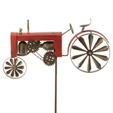 Röd Traktor Vindspel / Vindsnurra / Windgame Red tractor / Wind Wheel