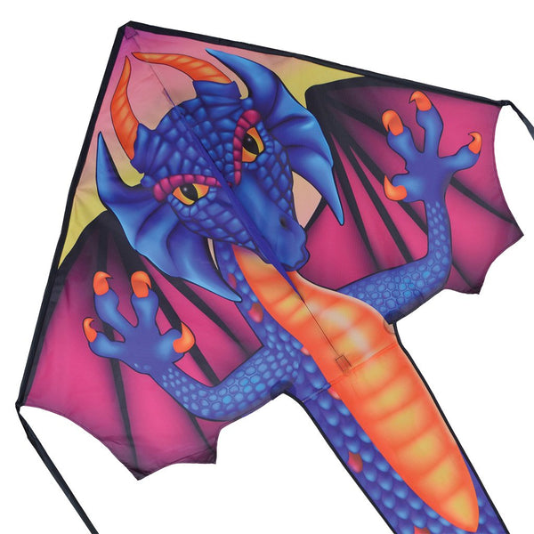 Sapphire Dragon Drake - Large EASY FLYER by Premier Kite USA (REA 30%)