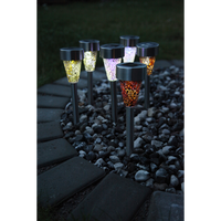 Display Solar Lights Mosaik Red