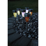Display Solar Lights Mosaik Grön
