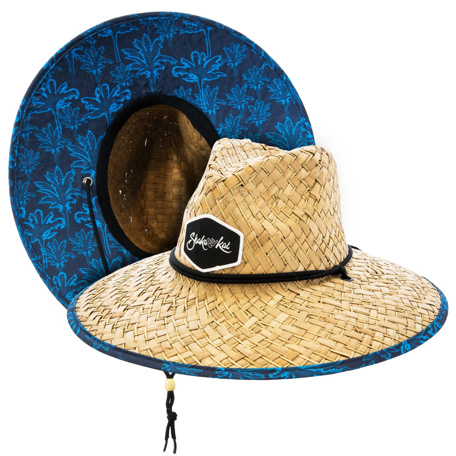 Blue Fever Straw Hat