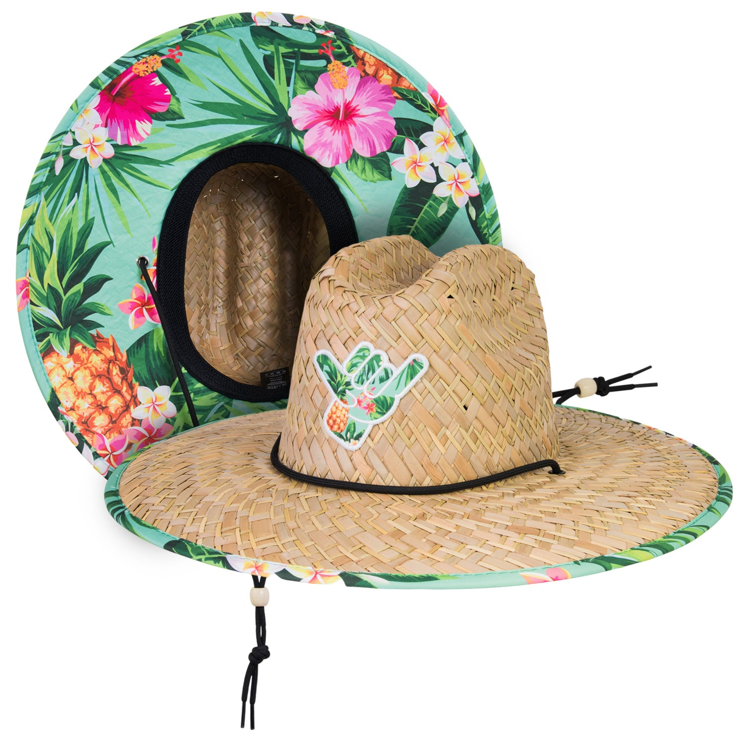 Keep It Tropical Straw Hat