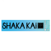 10'' Clear Outline Decal Shaka Kai Logo With Square