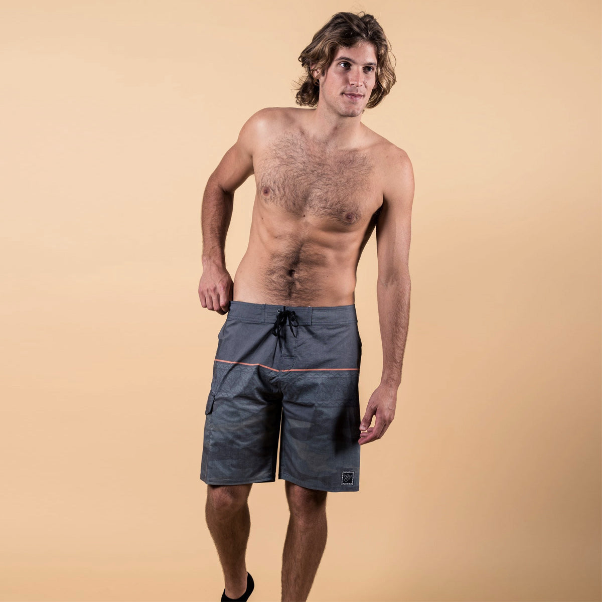 Mixed Camo BoardShort