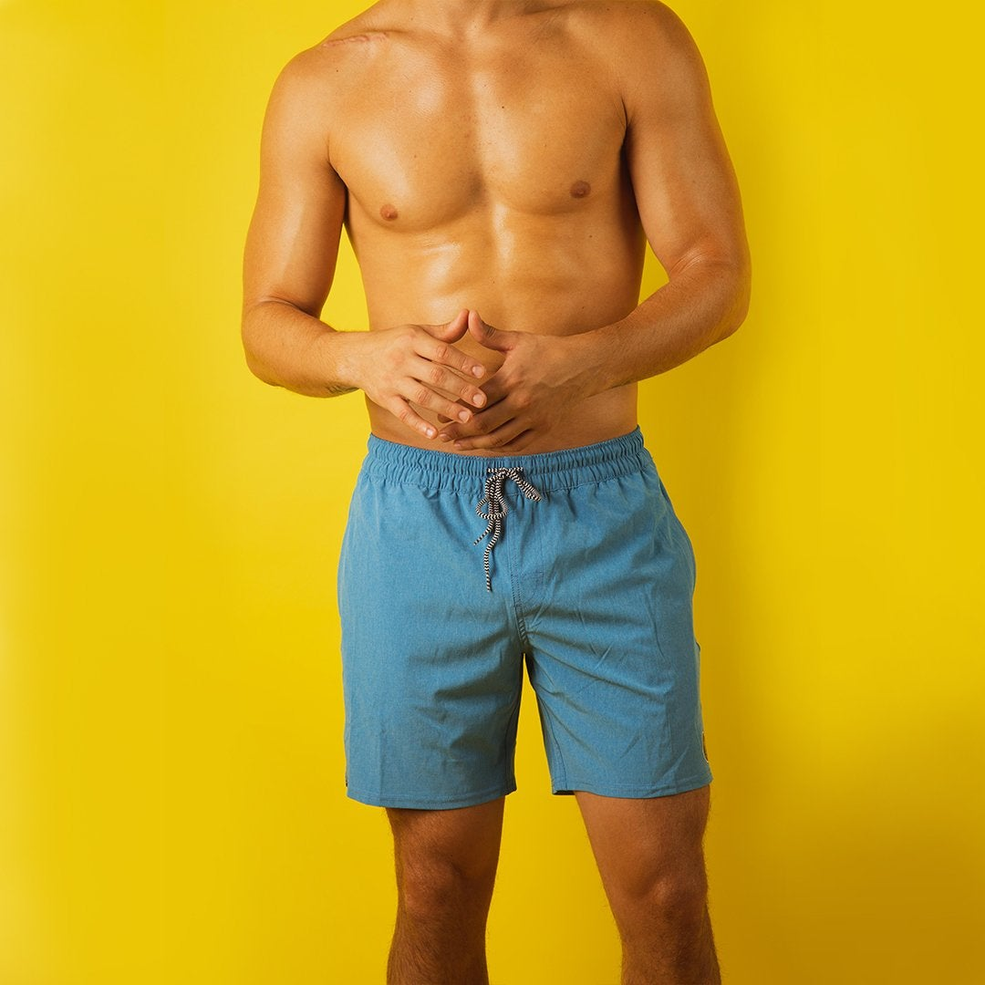 Men's Colors On Elastic Trunks