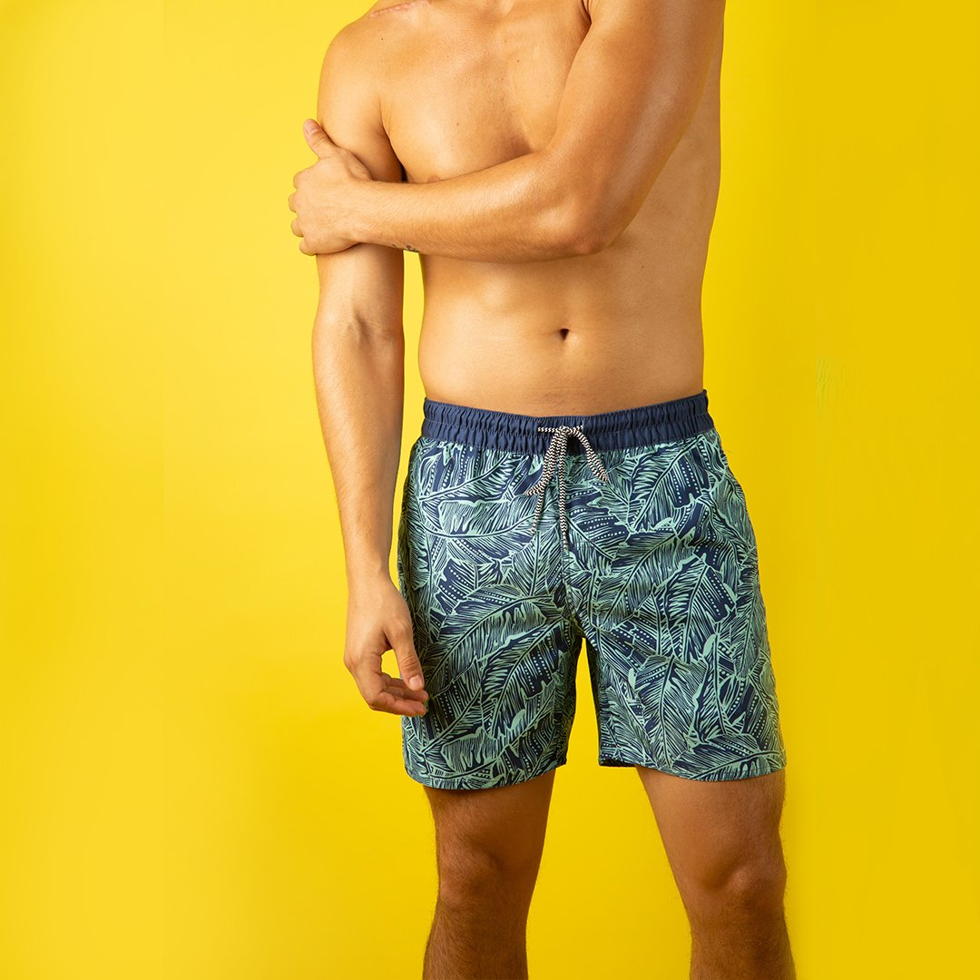 Men's Tropic Vibe Elastic Boardshorts