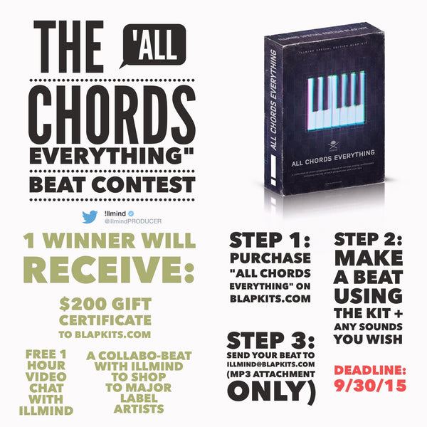 All Chords Contest – !llmind Blap Kits