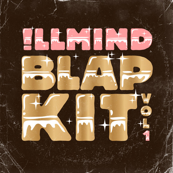!llmind BLAP KIT Volume 1 [drum samples]