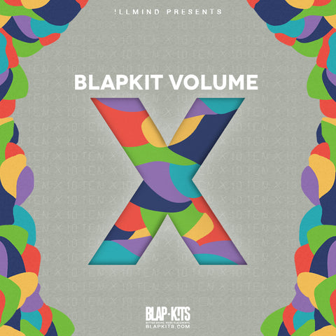 !llmind BLAP KIT Volume 10 [drum samples]