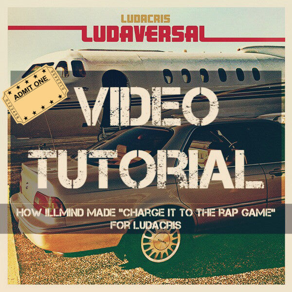 "Video Tutorial: How !llmind Made The Beat On ""Charge It To The Rap Game"" for Ludacris"