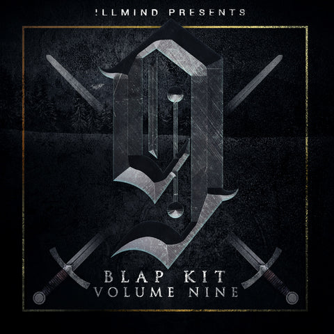 !llmind BLAP KIT Volume 9 [drum samples]