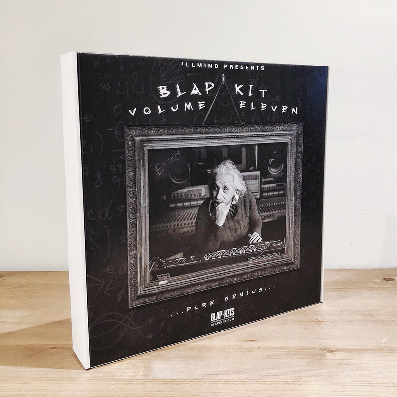 !llmind BLAP KIT Volume 11 [drum samples] LIMITED EDITION BOXED