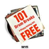 101 FREE DRUM BREAKS (A Blappy Holiday Gift)