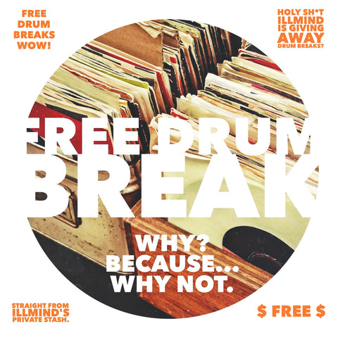 FREE DRUM BREAK #8 (WHOA)