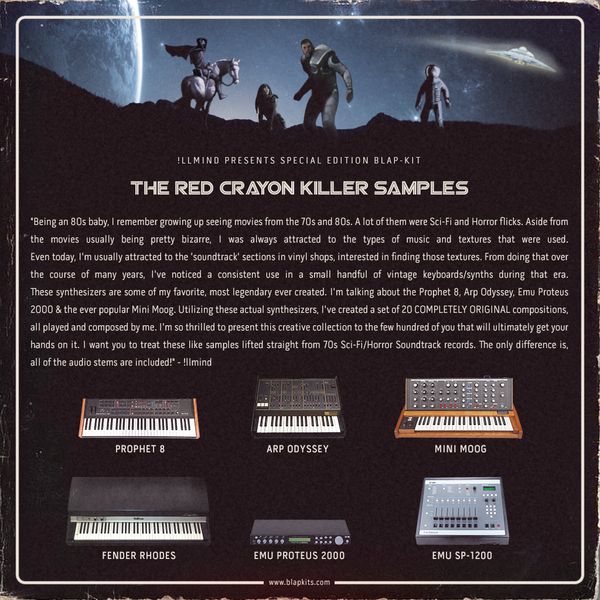 Special Limited Edition: The Red Crayon Killer Samples