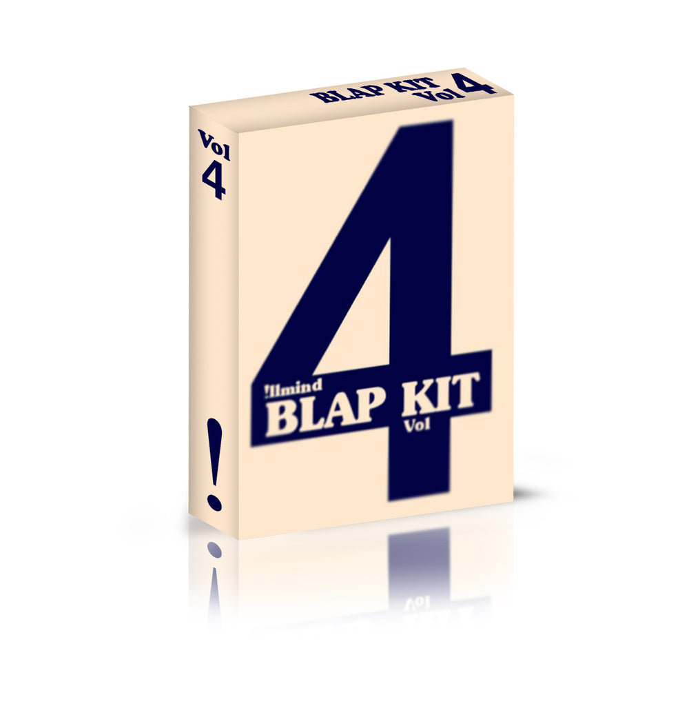 !llmind BLAP KIT Volume 4 [drum samples]