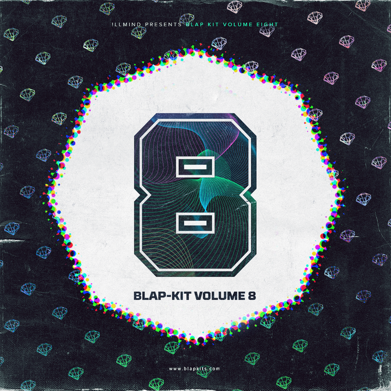 !llmind BLAP KIT Volume 8 [drum samples]