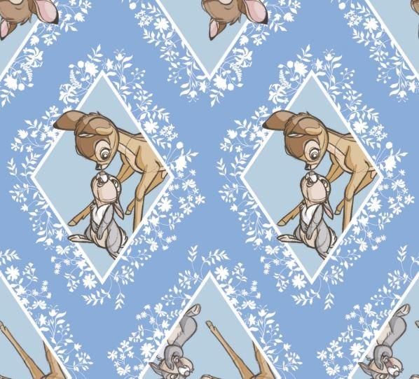 Disney Bambi & Thumper Blue Diamonds