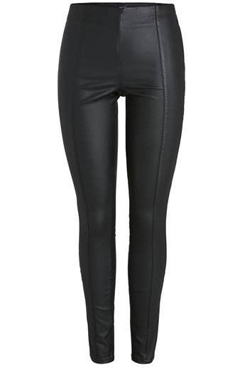 PIECES - Paro coated leggings