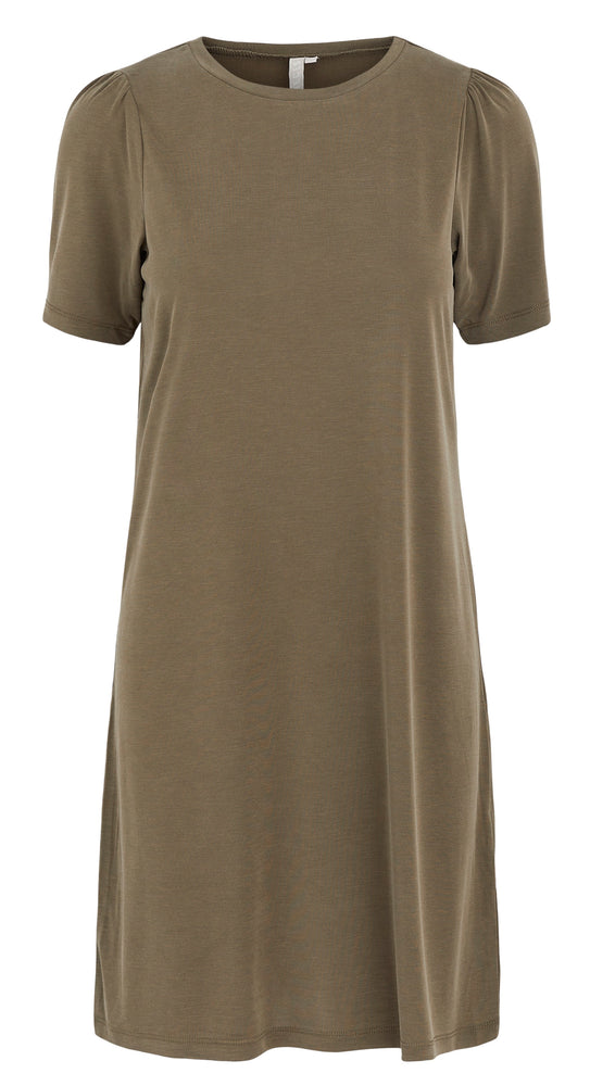 PCKAMALA - puff sleeve dress (Army)