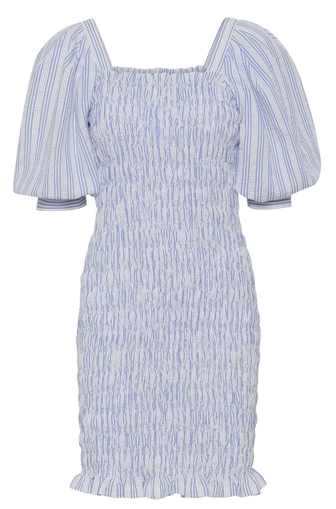 A-View - Rikka Dress (blue/white)