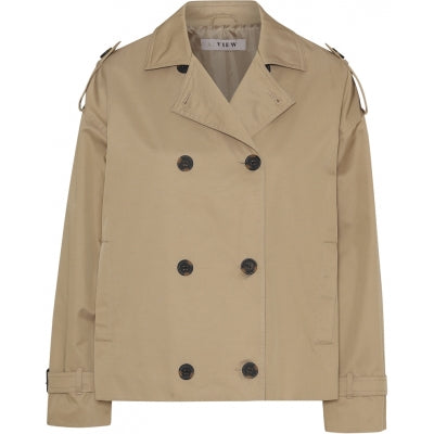 A-view - Olea short trench coat