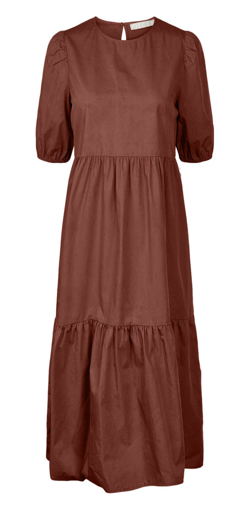 PCPARSLEY - Midi dress ¨Smoked paprika¨