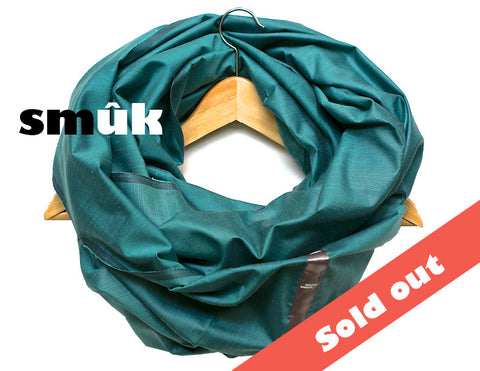 Thai silk blue-green smûk