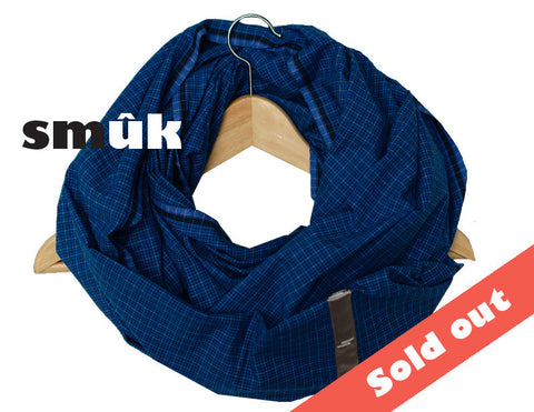 Burma blue checkered smûk
