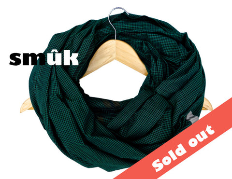 Burma green checkered smûk