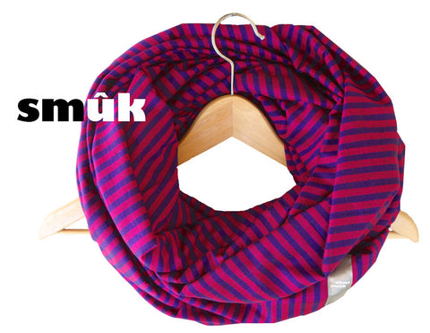 Burma purple pink striped smûk