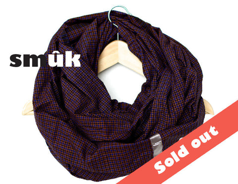 Burma purple checkered smûk