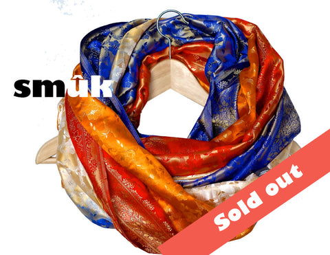 India silk 4 colours smûk