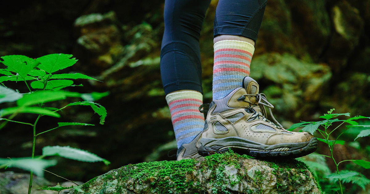 Hiking socks to wear with hiking boots on all your expeditions