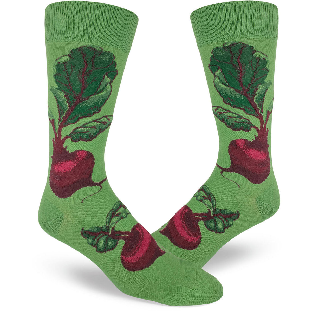 Men's socks with beets